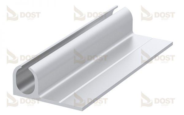 Alüminyum Keider Tekli Profil 10 mm