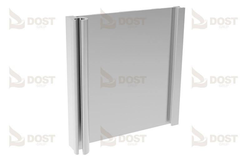 Hızlı Perde Aluminyum Ayna Profili