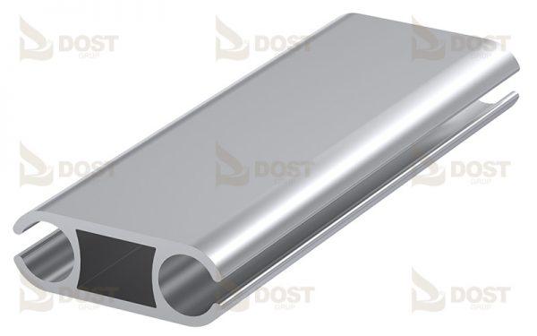 Keder Double Side Type 8 Aluminium 0.49 kg/m