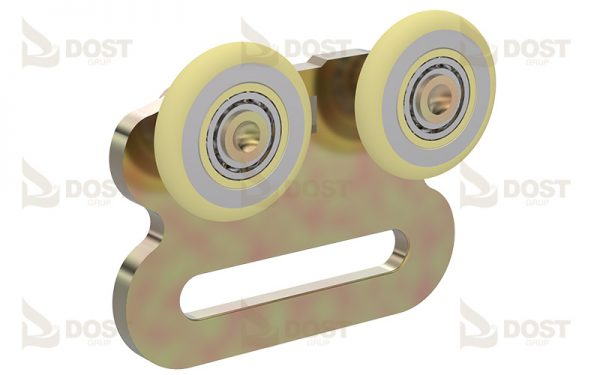 Roller Double Single & Sided, With Ball Bearing With 50 mm Slot