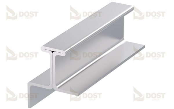 T- Type Rail For Sliding Roof Systems 1.89 kg/m